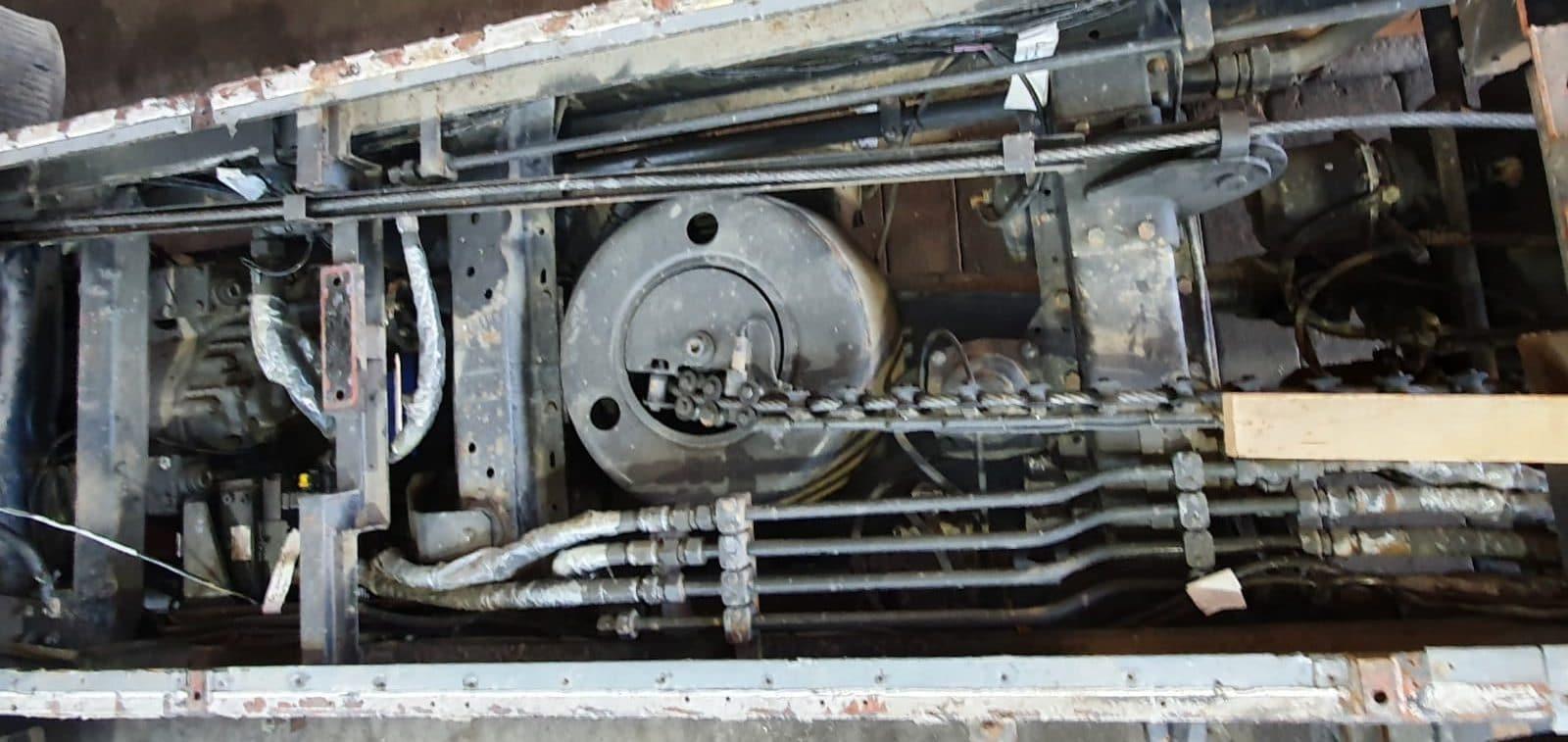 Mercedes-Benz 1222AF Seilwinde